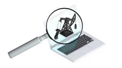 Computer with magnifier